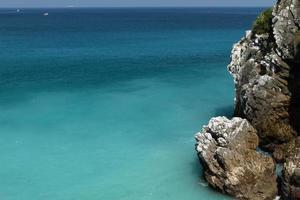 zomer zee foto