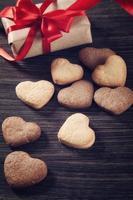 hartvorm koekjes foto