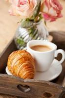 romantisch ontbijt foto