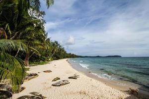 ko kuht of ko kood-eilandstrand in Thailand foto