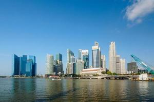 centrale zakenwijk van singapore foto