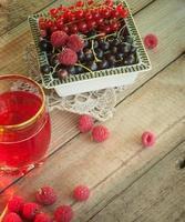 fruit en bessen foto