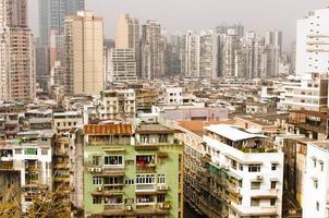 stad Azië. macau foto