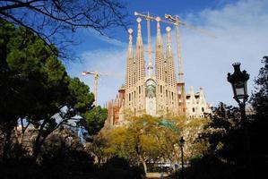 barcelona sagrada familia foto