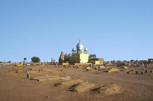 soefi-mausoleum in omdurman foto