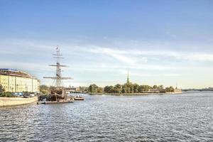 Sint Petersburg. stadsgezicht foto