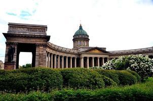 Kazan kathedraal, st. Petersburg foto
