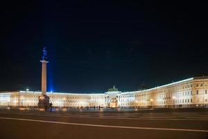 Paleisplein in Sint-Petersburg, Rusland. foto