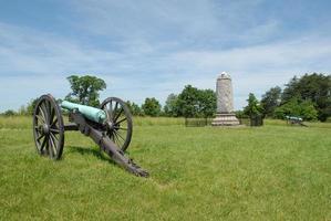 ter ere van een New York-regiment bij Manassas foto
