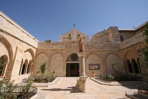 kerk van st. Catherine, Bethlehem foto