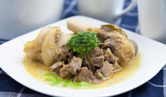 schapenvlees curry