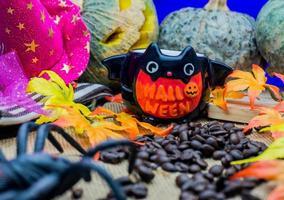 gelukkig halloween-feest foto