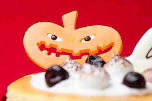 Halloween cake achtergrond foto