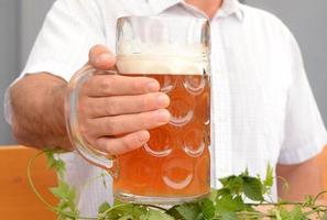 oktoberfest bier trinken foto