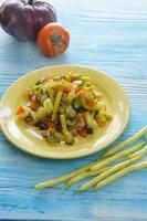 gestoofde groenten foto