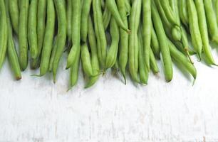groene bonen foto