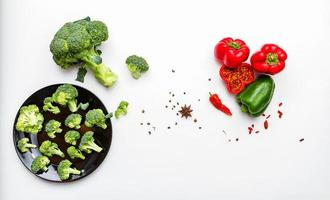 broccoli met paprika.