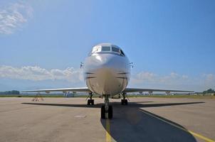 zakenvliegtuig foto