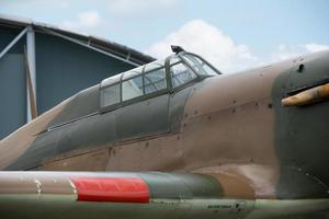 Hawker orkaan cockpit
