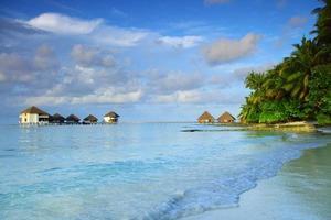 maldiven landschap foto