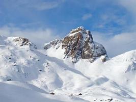 winterlandschap foto