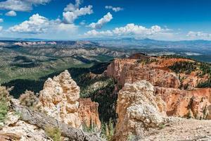 rotsachtig landschap foto