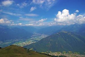 prachtig uitzicht landschap