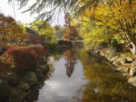 herfst landschap vallen