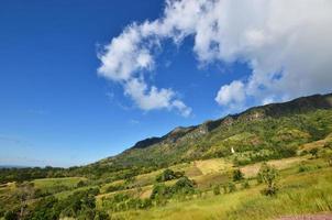 bergketen landschap foto