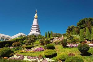 landschap van pagode foto