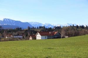 prachtig landschap van Duitsland foto