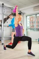 training met gewicht foto