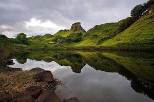 prachtig natuurlandschap foto