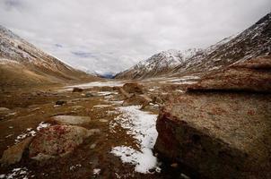 landschap berg foto
