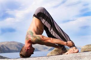 yoga en gymnastiek foto