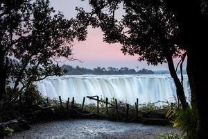 Victoria watervallen foto