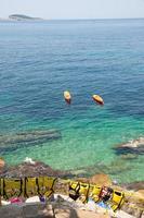 Kroatische kust foto