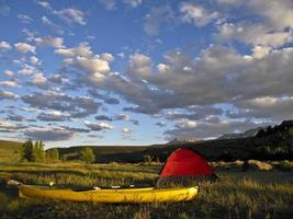 kamperen in Colorado foto