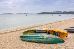 landschap van samui-eiland foto