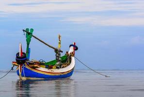 traditionele vissersboot foto
