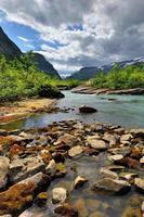 prachtig landschap van Noorwegen, Scandinavië foto