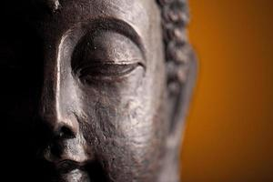 buddha kopf foto