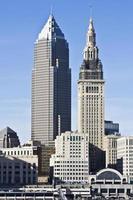 het centrum van Cleveland foto