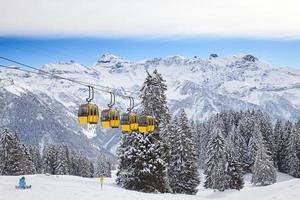 winter in de Alpen