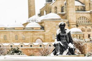 winter in selimiye foto