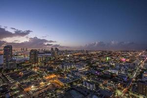 Miami Beach zonsondergang foto