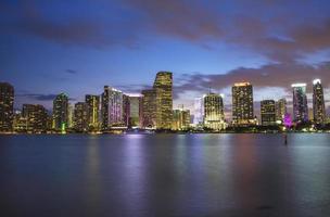 Miami waterkant foto