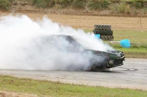 auto burn-out foto