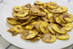bananen chips foto