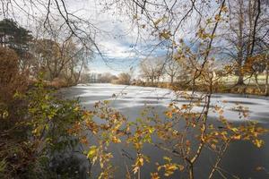 bevroren meer